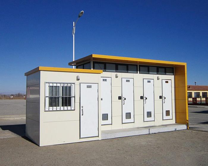免水打包型移动厕所详细介绍