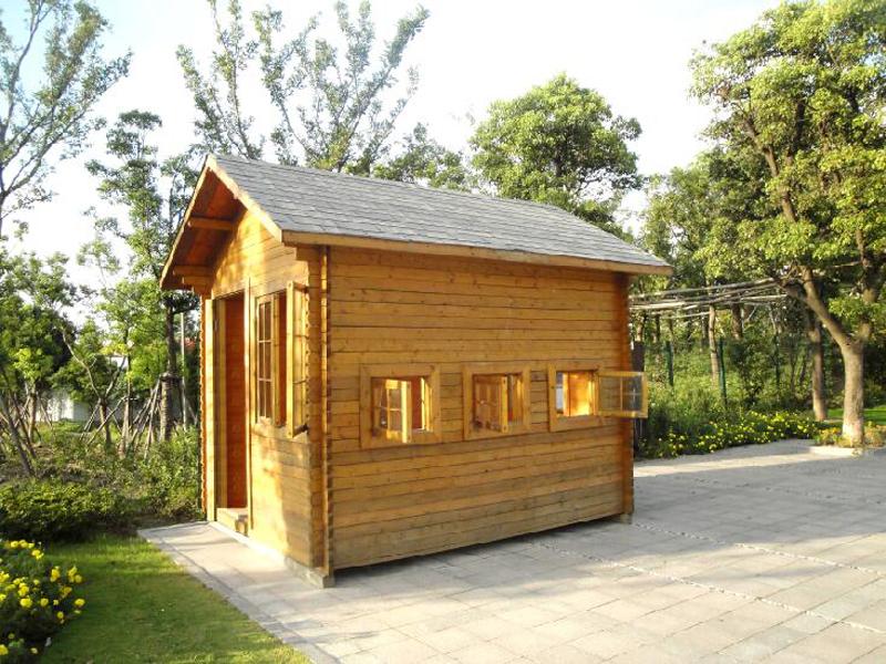 防腐木材质岗亭的性能优点介绍