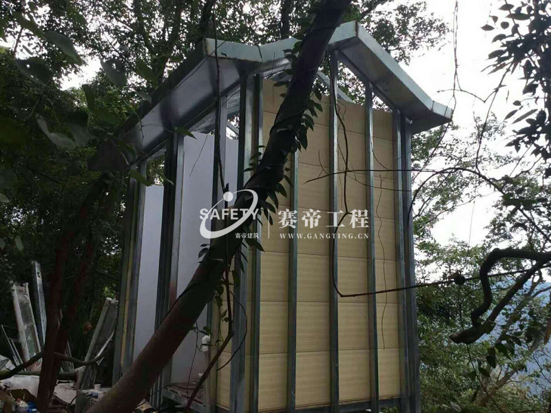 景区防腐木环保厕所