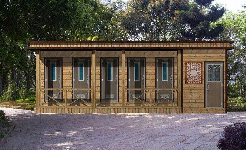 木质公园用环保移动厕所